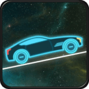 霓虹灯赛车:爬坡 Neon Car Racing - Hill Climb