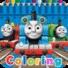 托马斯着色的火车