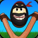 疯狂的忍者蛋:笨拙的跳跃 Crazy Ninja Egg Clumsy Jump