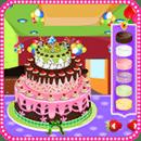 装饰蛋糕游戏