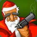 圣诞老人怪物枪火战