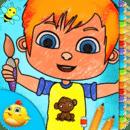 幼儿童装颜色,绘制