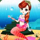美丽的人鱼公主装扮