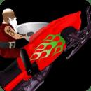 雪地圣诞老人