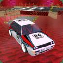 拉力赛车陈列室停车3D