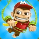 丛林猴子跑酷游戏