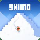 雪人山滑雪