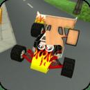 动画幼儿拼图:汽车