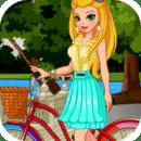 女生换装:单车日记