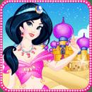 阿拉伯公主化妆