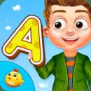 学龄前学习ABC儿童对于
