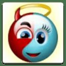 表情战争:天使对恶魔 - 冒险解谜游戏令人上瘾的游戏,赢取