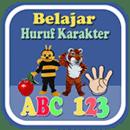 Belajar Huruf ABC Karakt...