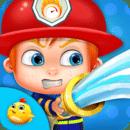 消防救援为孩子