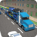 3D Car transport trailer...