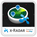x-Radar Powered by PetaMap