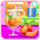 桃子冰淇淋烹饪游戏