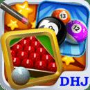 Snooker billiard - 8 ball pool
