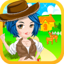 农民女孩换装游戏