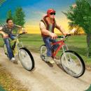 骑自行车的人BMX比赛
