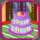 蛋糕装饰女孩子的游戏