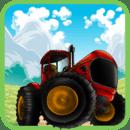 农用拖拉机赛跑