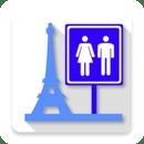 Toilets in Paris