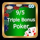 9/5 Triple Bonus Poker