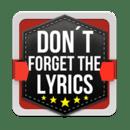 不要忘了歌词2