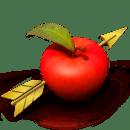 打到苹果!