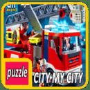 Puzzle Lego City My City