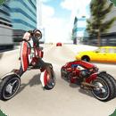 Motorcycle Robot Simulator 3D