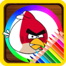 Coloring Book For Angry Birds