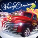 圣诞老人的越野卡车