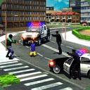 3D警车抓捕罪犯