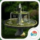 3D花园喷泉