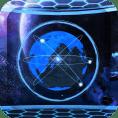 3D晶体星球