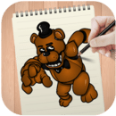 Learn how to draw FNAF