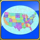 USA Map Puzzle Free