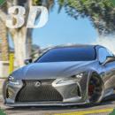 LC 500 驾驶模拟器 Lexus 3D