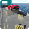 Onmoontlike Car Track Driving