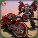 摩托机器人变形赛