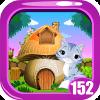 Cute Cat Rescue Game Kavi - 152
