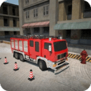 3D消防车停车 3D fire truck parking