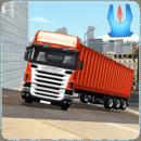 货运拖车运输卡车