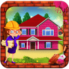 女孩粉红色的房屋建设:建筑模拟器