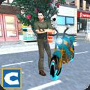 摩托自行车赛特技