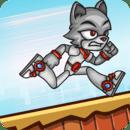 Wall Cat Run