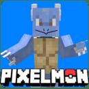 Pixelmon Multicraft mod Battle