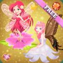 童话公主的小女孩